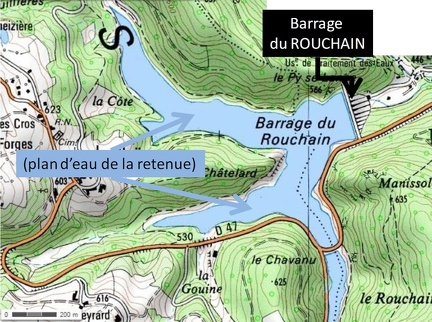Zone du Barrage